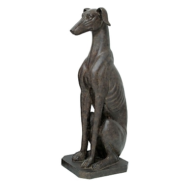 Selectives Sitting Greyhound Statue