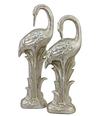 Selectives 2 Piece Cranes Figurine