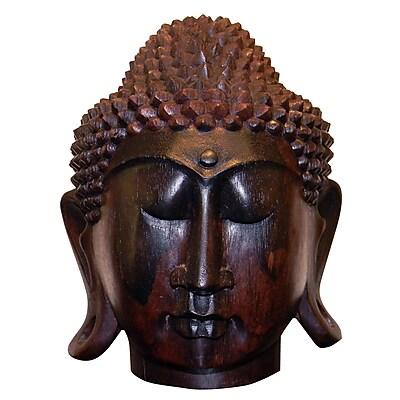 DonnieAnn Company Buddha Head Bust; Ebony