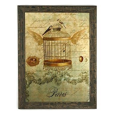 Zentique Inc. Wooden Plaque Wall D cor