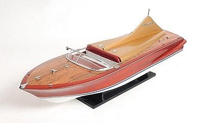 Old Modern Handicrafts Chris Craft Cobra Model Boat