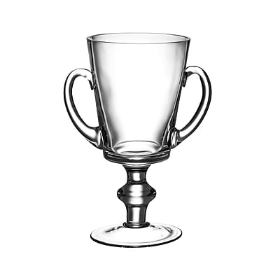 Majestic Crystal Classic Clear Trophy w/ Handles; 8'' H x 6'' W x 4.125'' D