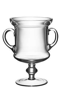 Majestic Crystal Classic Clear Trophy w/ Handles; 7.75'' H x 7.25'' W x 5.25'' D