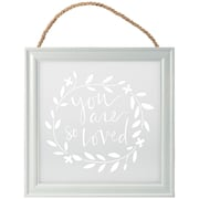 Malden You are Loved Hanging Sign Wall Decor