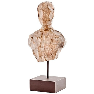 Modern Day Accents Cincel Chiseled Bust on Stand Bust