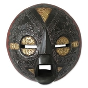 Novica Godfred France Beautiful Soul Hand Crafted African Wood Mask Wall Decor