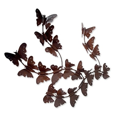 Novica Marco Polo Handcrafted Butterfly Wall Decor