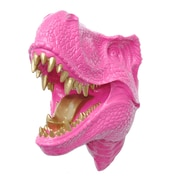 Near and Deer Faux Taxidermy T-rex Wall D cor; Pink/Gold