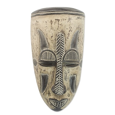 Novica Unique Nigerian Wood Mask Wall D cor