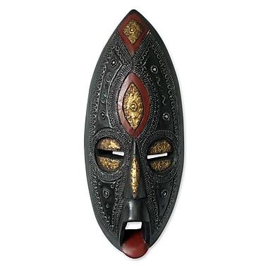 Novica Unique Wood Mask Wall D cor