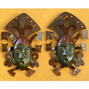 Novica 2 Piece 'Maya Masks' Wall D cor Set