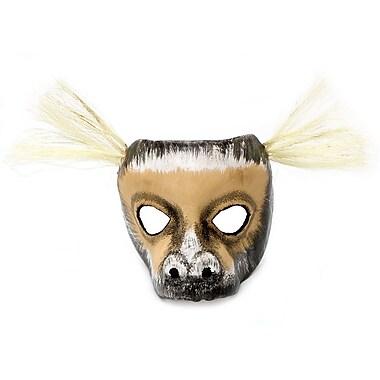 Novica Marc lio Barroco Unique Leather Carnival Mask Wall Decor