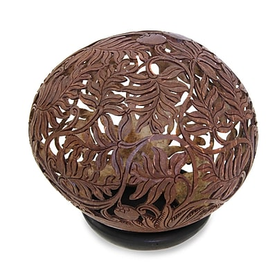 Novica Coconut Shell Sculpture1