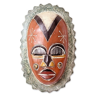 Novica Center of Beauty African Wood Mask Wall D cor