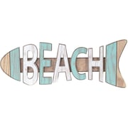 Malden Beach Fish Sign Wall Decor
