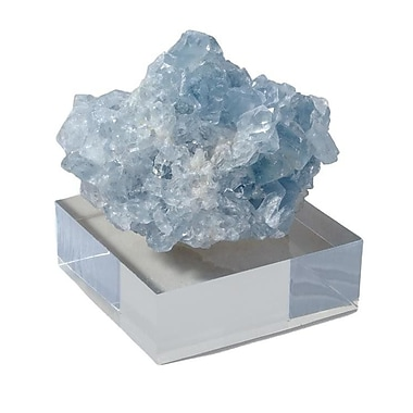 Mapleton Drive Celestite Crystal Cluster w/ Acrylic Stand