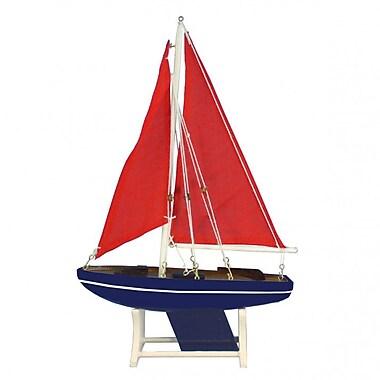 Handcrafted Nautical Decor It Floats American Sea Model Sailboat