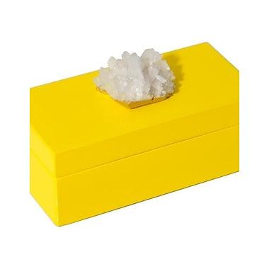 Mapleton Drive Lacquer Box w/ Himalayan Crystal