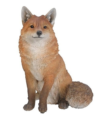 Hi-Line Gift Ltd. Seated Fox figurine
