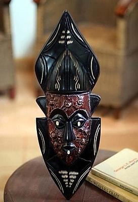 Novica Knowledge Fair Trade Wood Mask Wall D cor