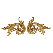 Hickory Manor House Pair of Flourishes Wall D cor