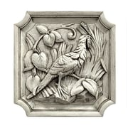 Hickory Manor House Left Pheasant Plaque Wall D cor