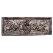 Hickory Manor House French Floral Plaque Wall D cor; Rococo