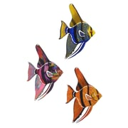 Next Innovations 3 Piece Tetra Fish Wall D cor Set