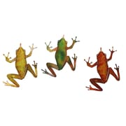 Next Innovations 3 Piece Frog Wall D cor Set