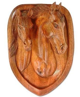 Novica Wild Horses Wall D cor