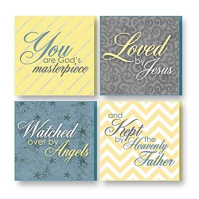 Imagine Design 4 Piece Treasured Times Christian Print Set
