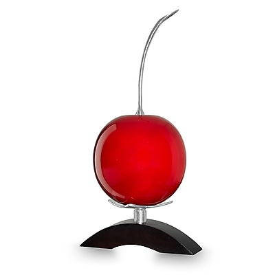 Infinita Corporation Artesana Hand Crafted Natural Gourd; Red