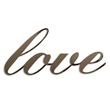 Letter2Word Love Wall D cor