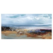 Kings Wood Art 'Sea Wind' Print of Painting on Canvas; 20'' H x 40'' W x 1.25'' D