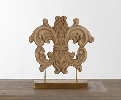 Zentique Inc. Decorative Wooden Carving on Stand
