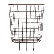Creative Co-Op Casual Country Metal Basket Wall D cor
