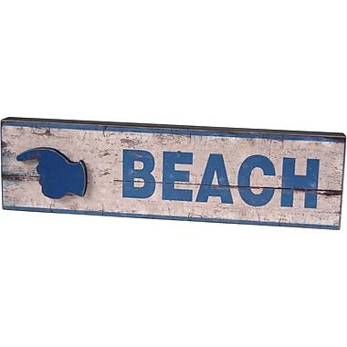 Wilco Home Beach Wall D cor