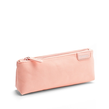 Poppin, Blush + Light Gray, Pencil Pouch (104446)