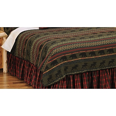 Wooded River McWoods I Coverlet; Twin