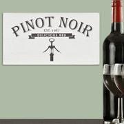 Stratton Home Decor Pinot Noir Box Wall D cor