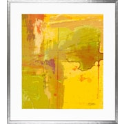 Art Virtuoso Aerial Abstract by Mark Fetty Framed Painting Print