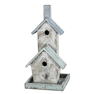 A&B Home French Chic Garden 15.5 in x 7.5 in x 7.5 in Birdhouse