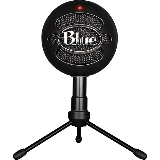 Blue Microphones® Snowball Ice USB Condenser Microphone, Black