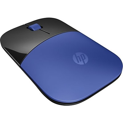 HP® Z3700 Optical USB/RF Wireless Mouse, Blue/Black (V0L81AA)