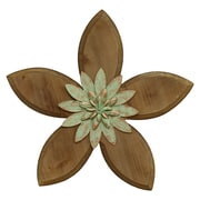 Stratton Home Decor Rustic Flower Wall D cor