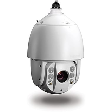 TRENDnet TV-IP450PI Outdoor 1.3 MP HD PoE IR Speed Dome Network Camera