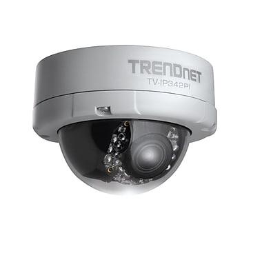 TRENDnet – Caméra réseau dôme jour/nuit extérieure 2 MP PoE pleine HD TV-IP342PI