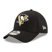 Casquette des Penguins de Pittsburgh ajustable 9FORTY, logo biseauté