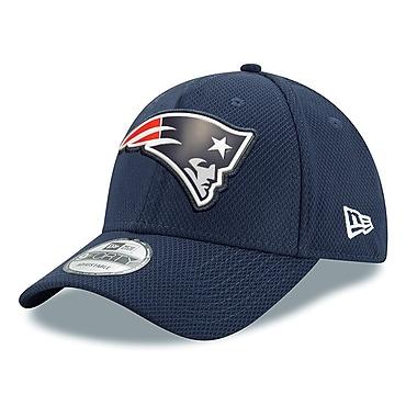 Casquette des Patriots de la Nouvelle-Angleterre ajustable 9FORTY, logo biseauté