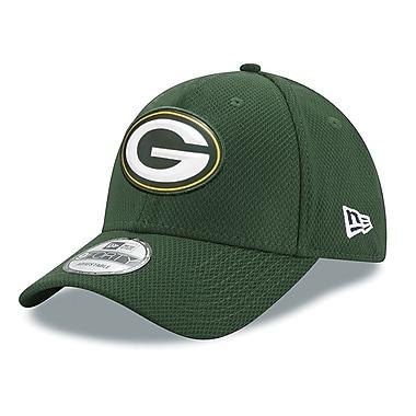 Casquette des Packers de Greenbay ajustable 9FORTY, logo biseauté